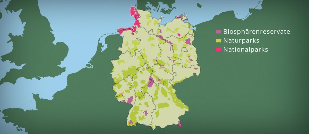 Schutzgebietskategorien Naturschutzgebiete Ffh Gebiete Und Co