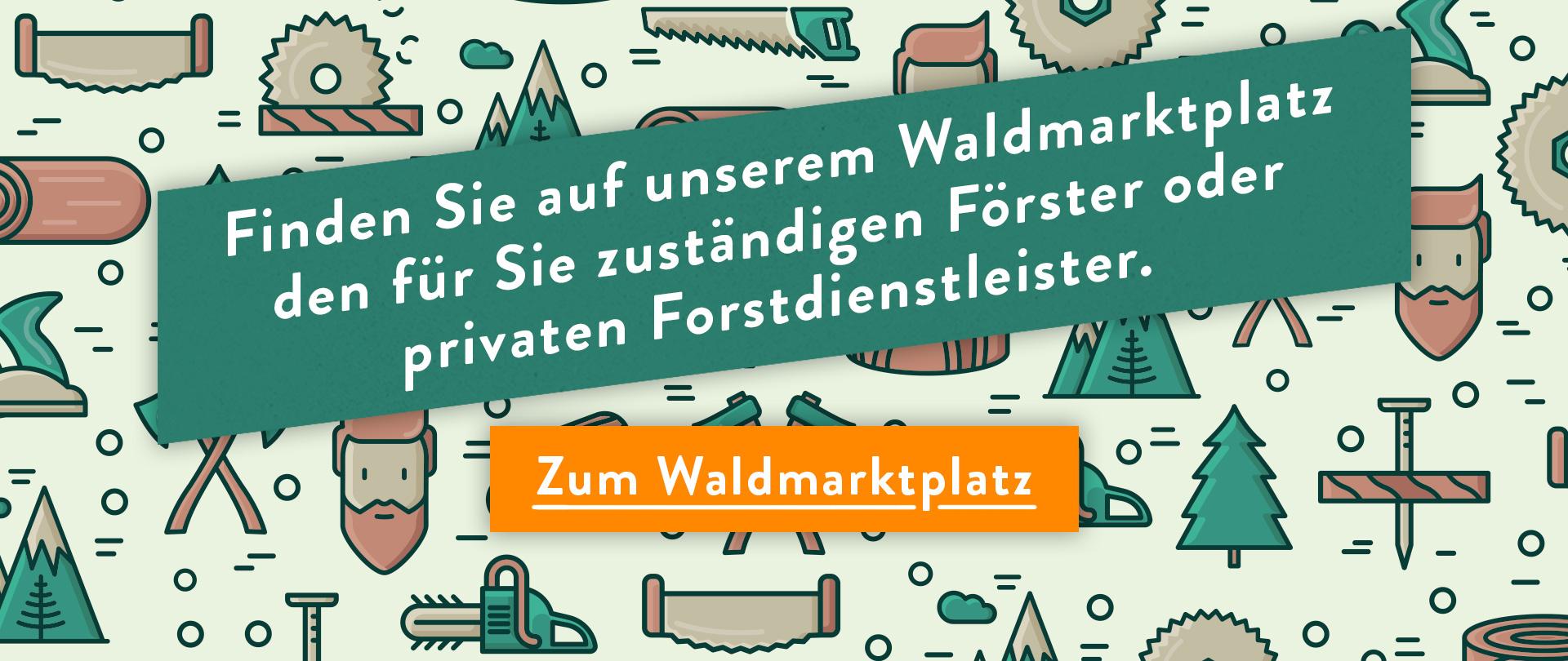 Förster und Forstdienstleister auf dem Waldmarktplatz finden