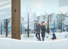 Waldkalender: Winter im Wald
